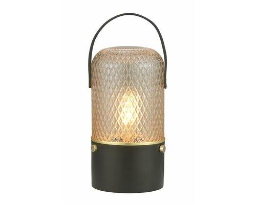 Light Gallery Amber tafellamp bruin