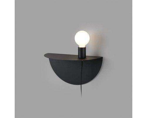 Light Gallery Nit wandlamp zwart