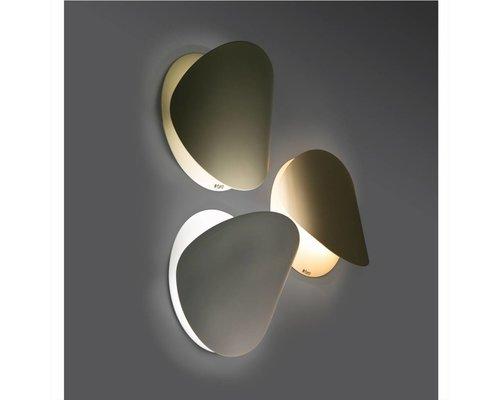 Philips Ovo wandlamp wit klein