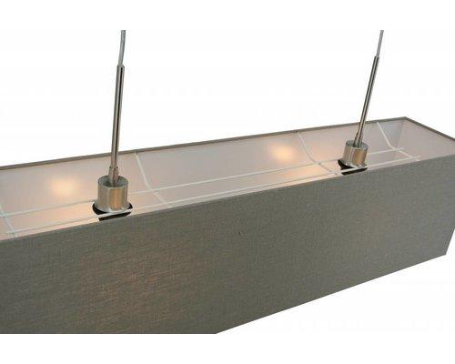 Light Gallery Kap hanglamp taupe 100x20x25