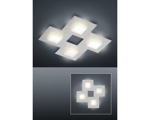 Light Gallery Diamond Plafonnier Carré - Gris