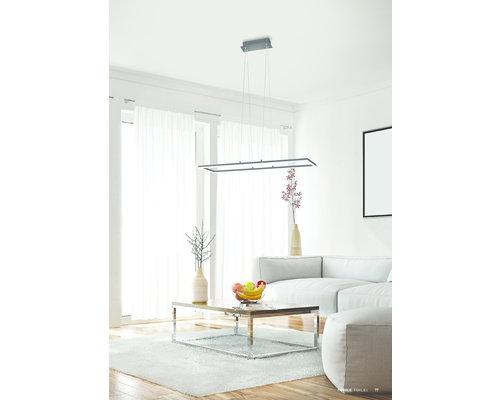 Light Gallery Bard Rechthoekige hanglamp - Antraciet