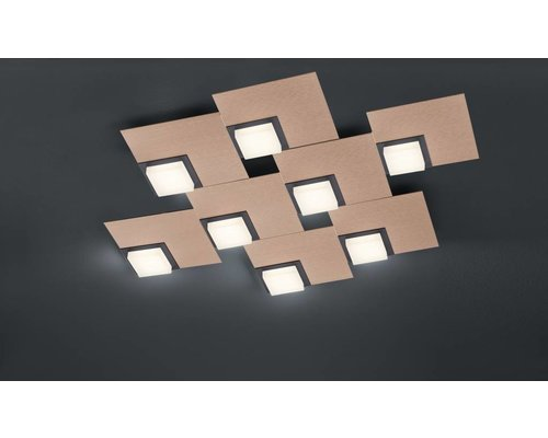 Light Gallery Quadro Plafondlamp - Roosgoud