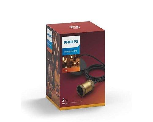 Philips Vintage cord pendant gold 1x60W 230V
