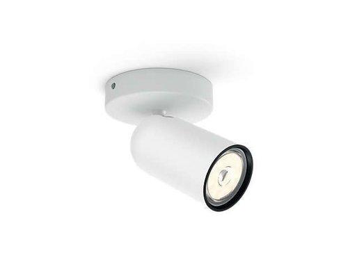 Philips Pongee opbouwspot wit 1-licht