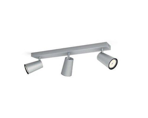 Philips Paisley opbouwspot aluminium 3-lichts