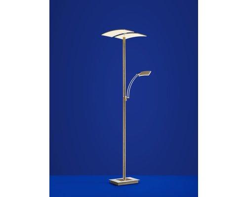 Light Gallery Duo vloerlamp hout 2 licht