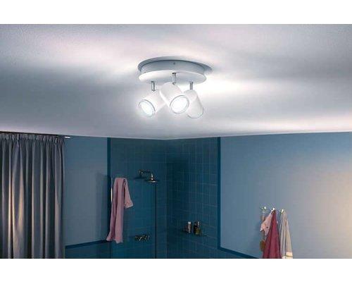 Philips Hue HUE White Ambiance Adore spot de plafond IP44 LED 3xGU10 5.5W / 250lm blanc