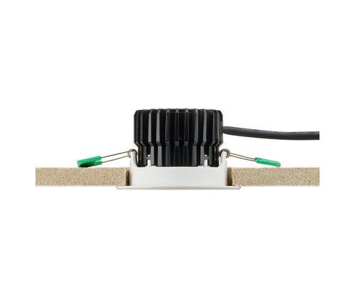 Philips Coreline inbouwspot LED 8W 650lm 3000K IP44 aluminium
