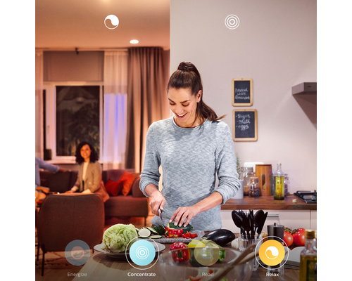 Philips Hue HUE Cher BT White Ambience suspension LED 1x33.5W blanc