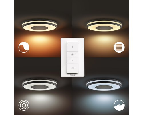 Philips Hue HUE BEING BT plafondlamp LED 1x32W zwart