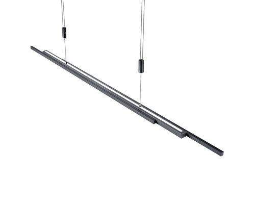 Light Gallery L Lightline hanglamp up/down 60W 5500lm antraciet