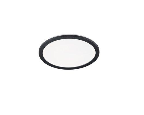 Light Gallery Camillus plafondlamp 40cm 2000lm IP44 rond zwart