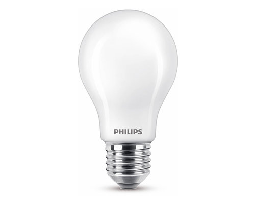 Philips LED classic E27 60W 806lm lamp frosted
