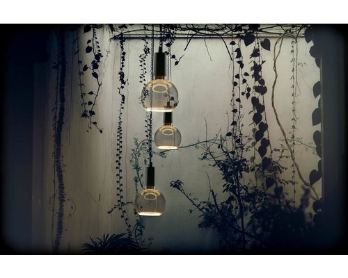 Light Gallery Floating Globe 125 LED lamp 8W smokey