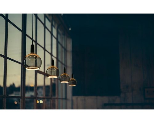Light Gallery Lampe Flottante Globe 200 LED 8W Smokey