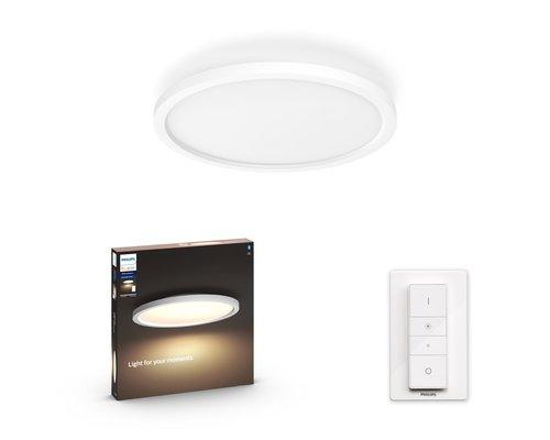 Philips Hue Panneau HUE Aurelle BT White Ambiance rond LED 24