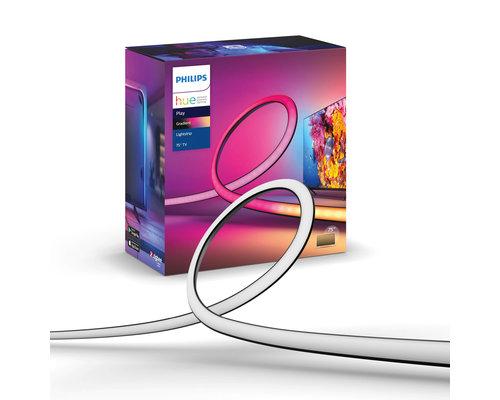 Philips Hue Play bande lumineuse dégradée + 75 pouces 23W 1100lm noir