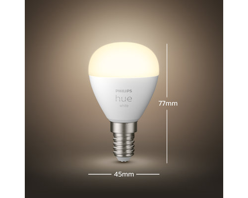 Philips Hue HUE lamp white 1xE14 5 5W 470lm
