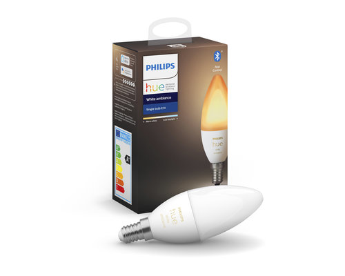 Philips Hue HUE white ambience lamp 1xE14 5 2W 470lm 2200-6500K