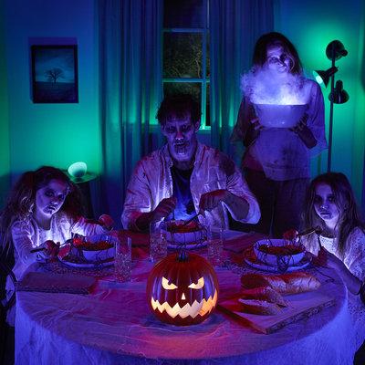 Slimme verlichting voor een sidderende Halloween
