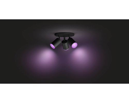 Philips HUE Fugato White & Color Ambiance opbouwspot LED 3xGU10/5