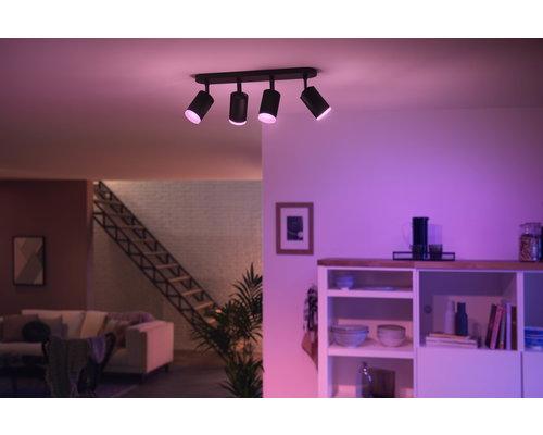 Philips HUE Fugato White & Color Ambiance opbouwspot LED 4xGU10/5