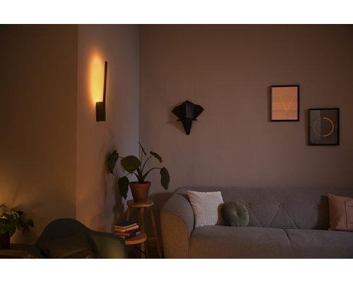 Philips HUE Liane White & Color Ambiance wandlamp LED 12W 900lm zwart