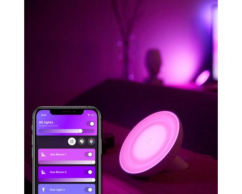 Philips Hue Lampe de table Hue Bloom génération 4 500lm blanc