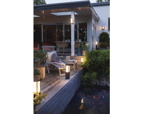 Philips Hue Impress White Ambiance Color Ambiance tuinpaal LED 8W 1200lm zwart