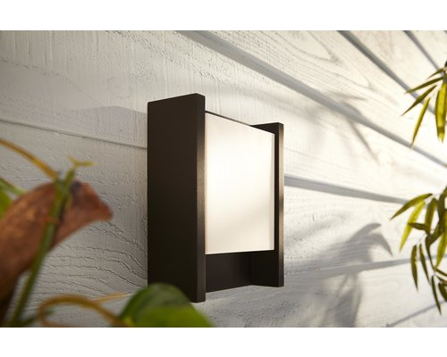 Philips Hue Hue Fuzo White wandlamp 15W 1150lm zwart
