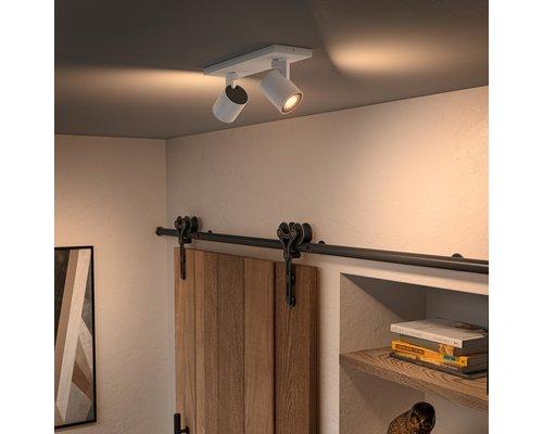 Philips Hue HUE Runner BT opbouwspot LED GU10 2x5W wit