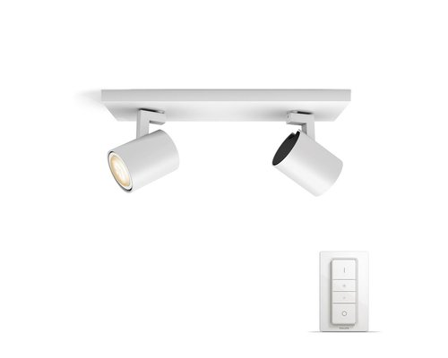 Philips Hue HUE Runner BT spot en saillie LED GU10 2x5W blanc