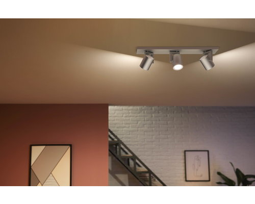 Philips HUE Argenta White & Color Ambiance opbouwspot LED 3xGU10/5