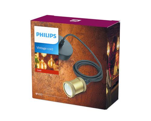 Philips Classic koord E27 goud