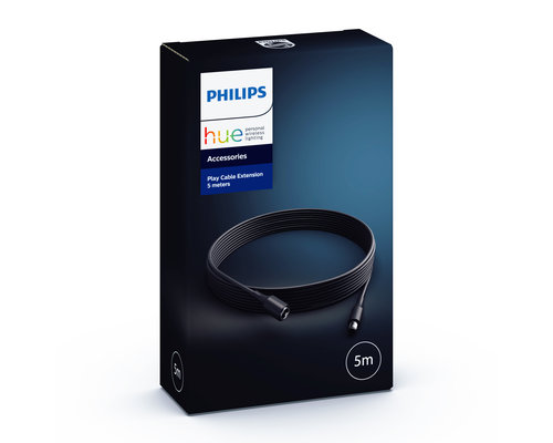 Philips Hue HUE play extension cable 5m zwart