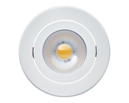 Philips Coreline inbouwspot LED 8W 650lm 2700K IP44 wit