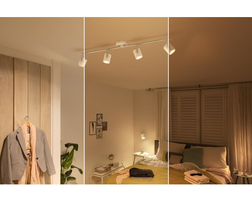 Philips Byre opbouwspot LED 4x4