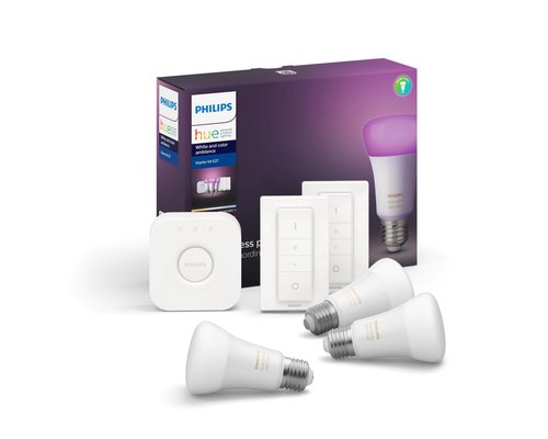 Philips HUE White & Color Ambiance starterset 3xE27