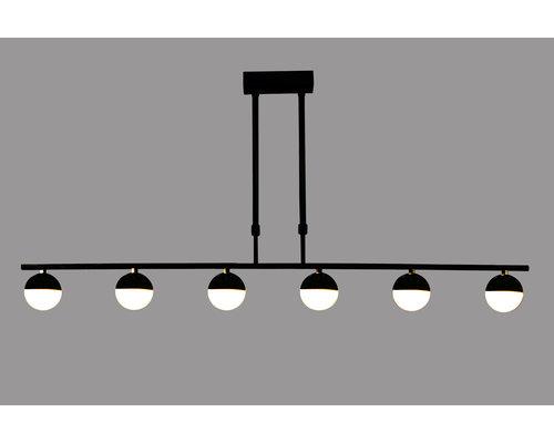 Light Gallery Ball hanglamp zwart 6L ln