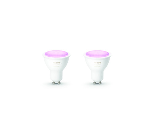 Philips HUE White & Color Ambiance lamp 2xGU10