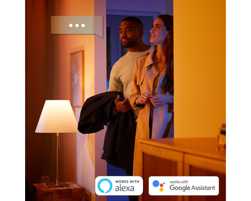 Philips Hue HUE Iris gen4 tafellamp white and color ambiance 570lm zilver