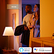 Philips Hue HUE Iris gen4 tafellamp white and color ambiance 570lm rose