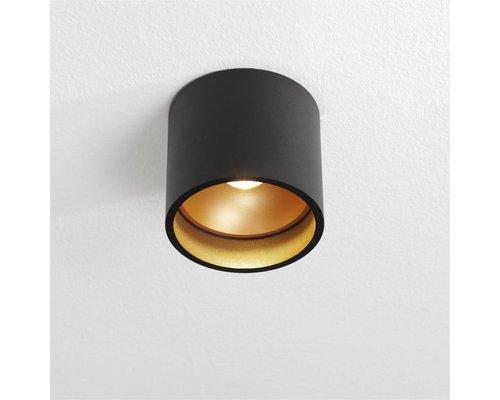 Light Gallery Brega opbouwspot zwart goud