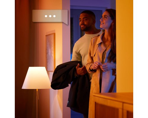 Philips Hue Hue Adore BT opbouwspot LED GU10 3x5W IP44 rond wit