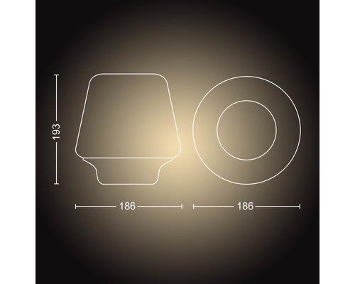 Philips Hue HUE Wellness BT tafellamp LED E27 1xE8