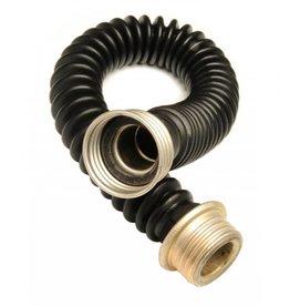 Gasmask Tube Black Rubber