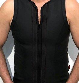 RoB F-Wear vest met rits zwart