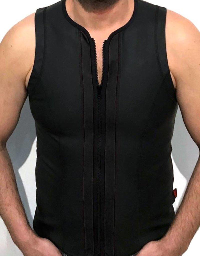 RoB F-Wear Weste mit Reissverschluss Schwarz