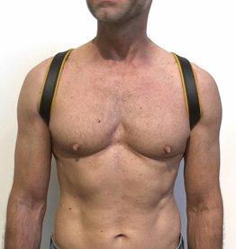 RoB Shoulder Harness Yellow Piping, snaps